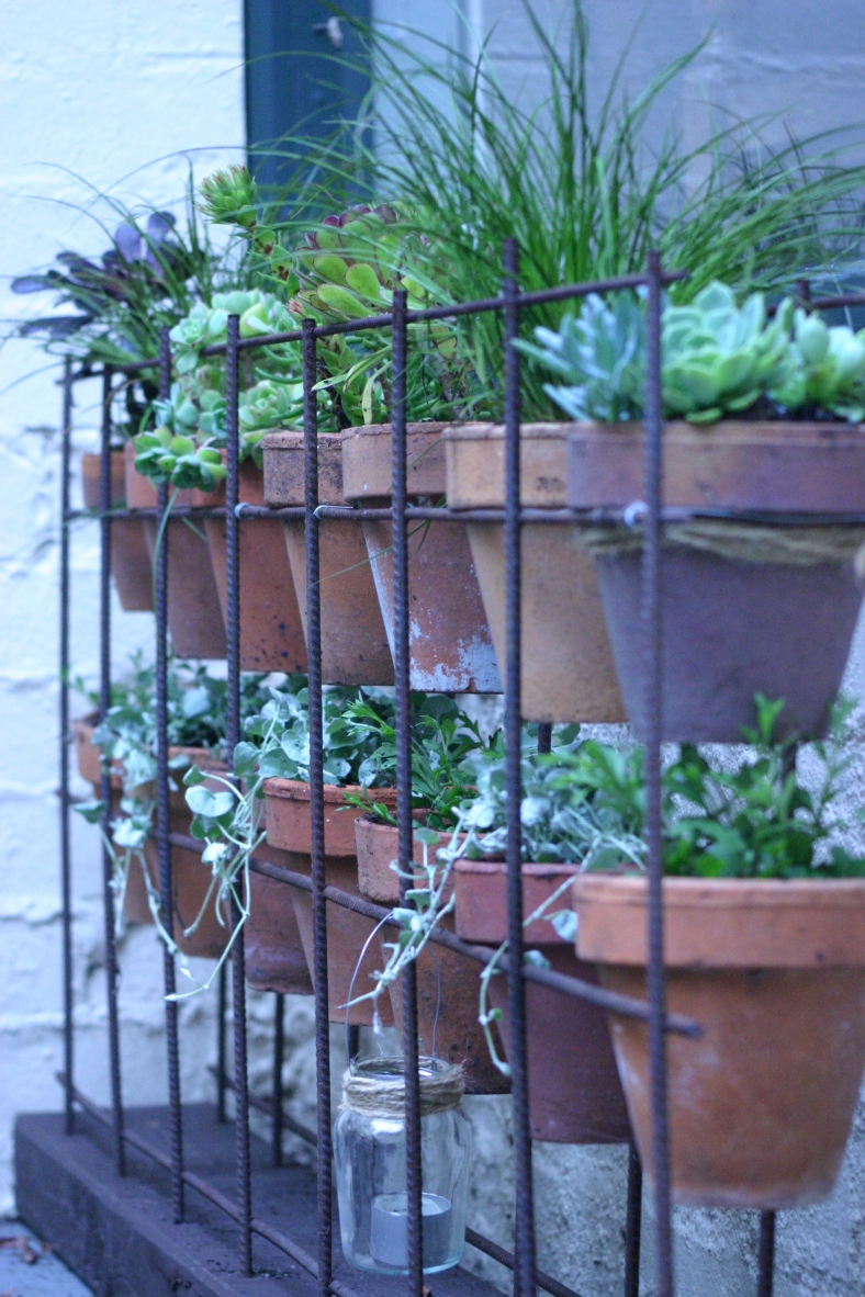 Vertical Terracotta Garden